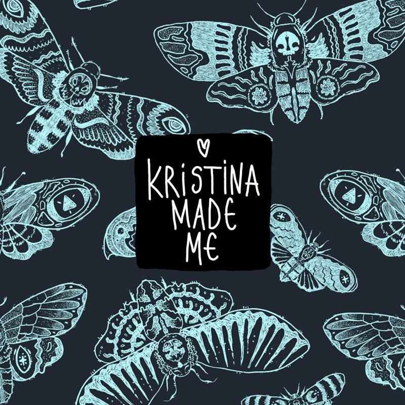 Kristina Made Me Тоте Чанта MOTH