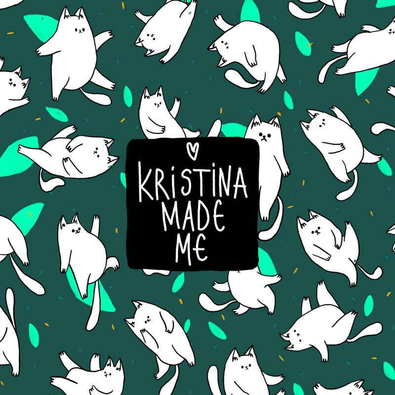 Kristina Made Me Тоте Чанта CATS