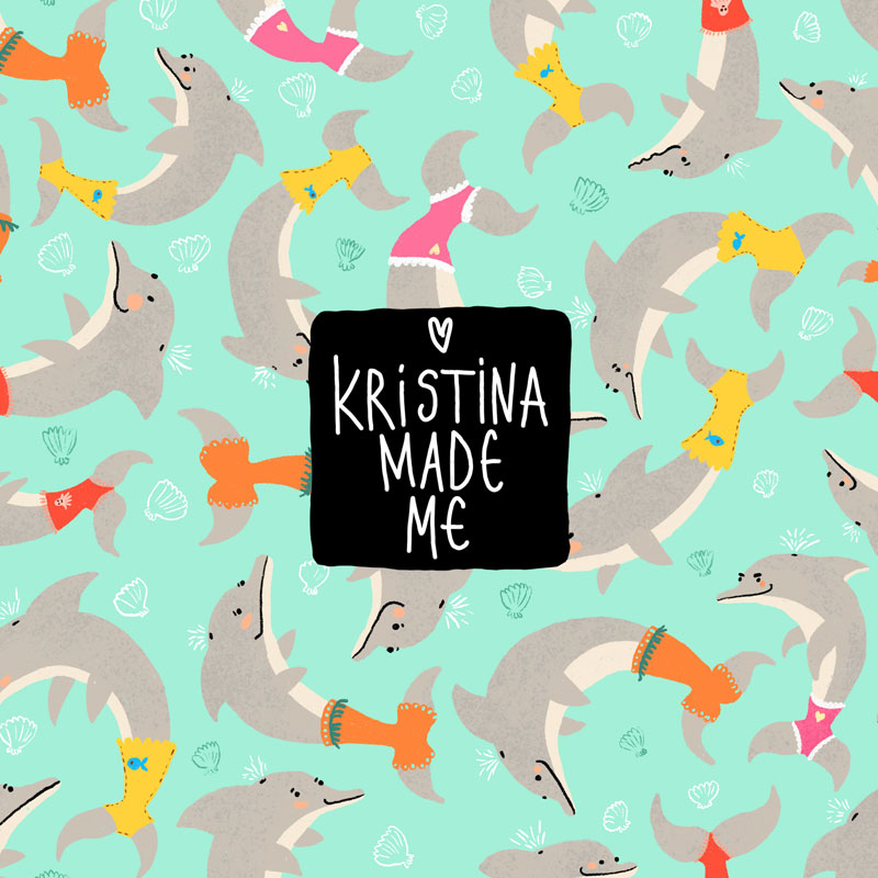 Kristina Made Me Тоте Чанта DOLPHIN