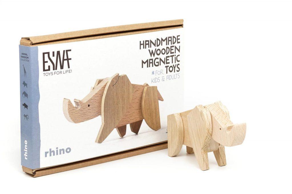 ESNAF TOYS Animal Kingdom Rhino